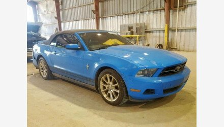 2010 Ford Mustang Convertible for sale 101127007