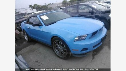2010 Ford Mustang Convertible for sale 101127840