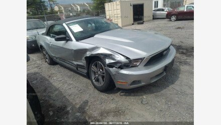2010 Ford Mustang Convertible for sale 101185223