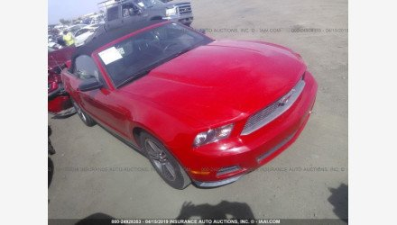 2010 Ford Mustang Convertible for sale 101205427