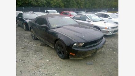2010 Ford Mustang Convertible for sale 101206712