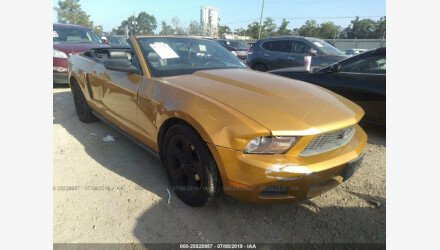 2010 Ford Mustang Convertible for sale 101210485