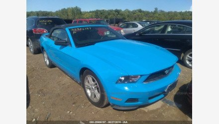 2010 Ford Mustang Convertible for sale 101214907