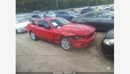2010 Ford Mustang Coupe for sale 101217428