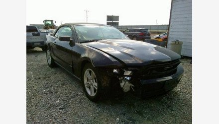 2010 Ford Mustang Convertible for sale 101220652