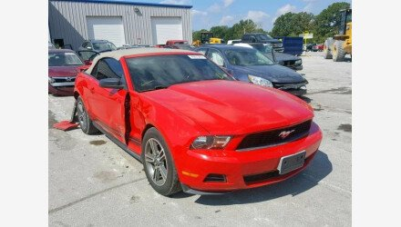 2010 Ford Mustang Convertible for sale 101220760