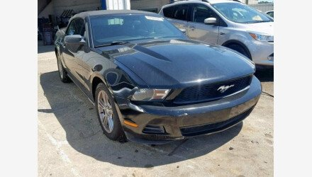2010 Ford Mustang Convertible for sale 101221348
