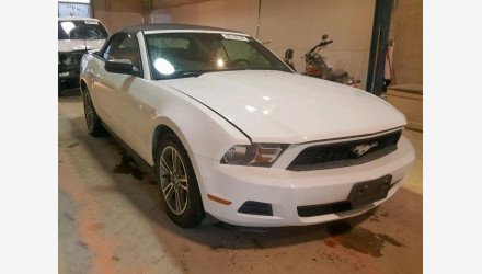 2010 Ford Mustang Convertible for sale 101225891