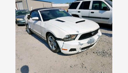 2010 Ford Mustang Convertible for sale 101226699