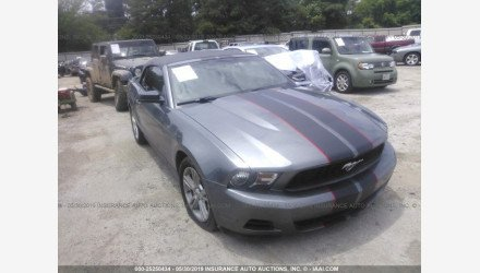 2010 Ford Mustang Convertible for sale 101239100