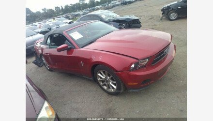 2010 Ford Mustang Convertible for sale 101240000
