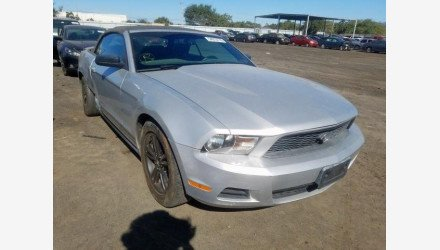 2010 Ford Mustang Convertible for sale 101240603