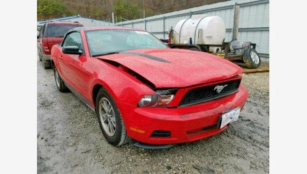 2010 Ford Mustang Convertible for sale 101273182