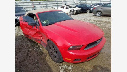 2010 Ford Mustang Convertible for sale 101281315