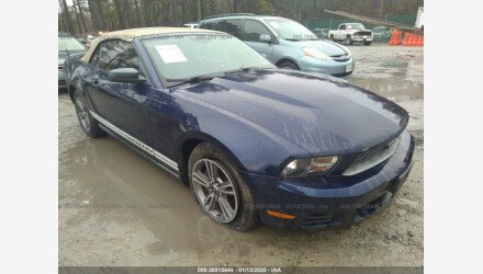 2010 Ford Mustang Convertible for sale 101284834
