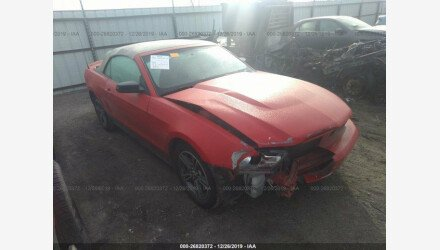 2010 Ford Mustang Convertible for sale 101285890