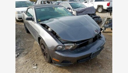 2010 Ford Mustang Convertible for sale 101286549