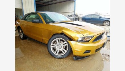 2010 Ford Mustang Convertible for sale 101291127