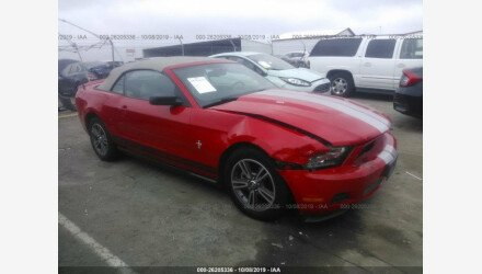 2010 Ford Mustang Convertible for sale 101296858
