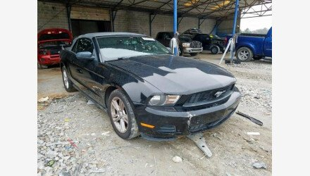 2010 Ford Mustang Convertible for sale 101307773