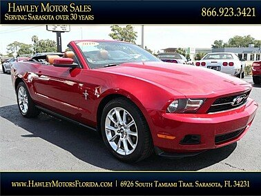 2010 Ford Mustang Convertible for sale 101323021