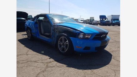 2010 Ford Mustang Convertible for sale 101344051