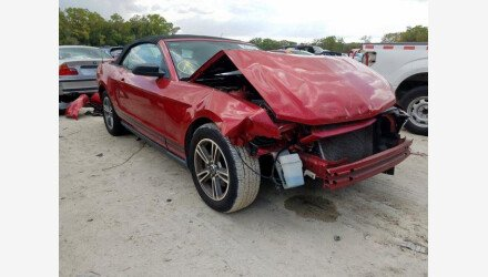 2010 Ford Mustang Convertible for sale 101346625