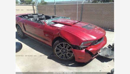 2010 Ford Mustang GT Convertible for sale 101351218