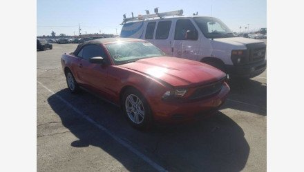 2010 Ford Mustang Convertible for sale 101361336