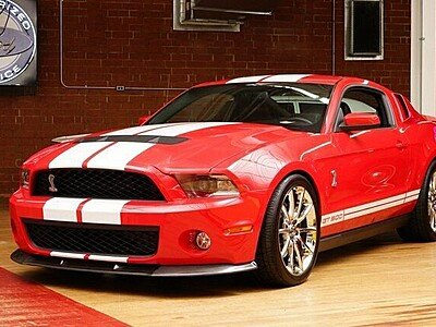 2010 Ford Mustang Shelby GT500 Coupe for sale 101370030