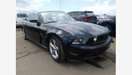 2010 Ford Mustang GT Convertible for sale 101378217
