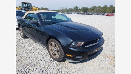 2010 Ford Mustang Convertible for sale 101405796