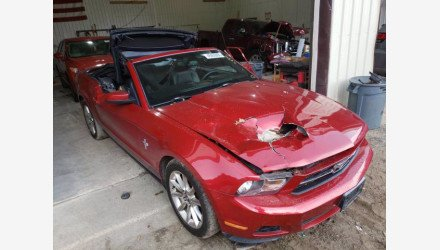 2010 Ford Mustang Convertible for sale 101413021