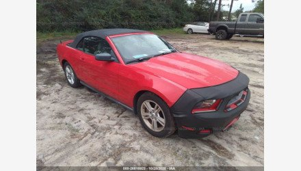 2010 Ford Mustang Convertible for sale 101413335