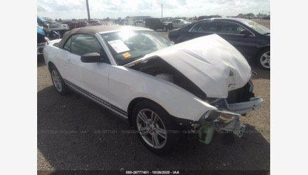 2010 Ford Mustang Convertible for sale 101436350