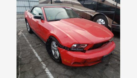 2010 Ford Mustang Convertible for sale 101439405