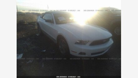 2010 Ford Mustang Convertible for sale 101453962