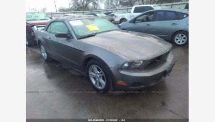 2010 Ford Mustang Convertible for sale 101456578