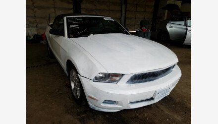 2010 Ford Mustang Convertible for sale 101458981