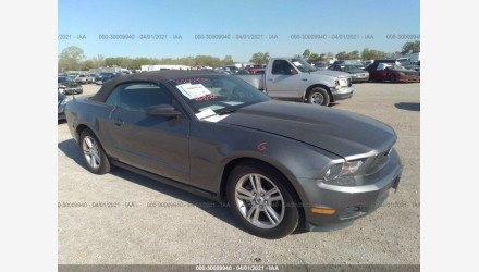 2010 Ford Mustang Convertible for sale 101485803