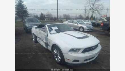 2010 Ford Mustang Convertible for sale 101489257