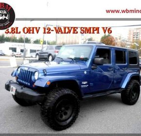 2010 Jeep Wrangler 4WD Unlimited Sahara for sale 101056439