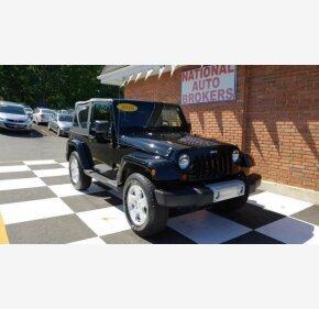 2010 Jeep Wrangler 4WD Sahara for sale 101059300