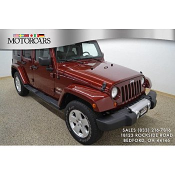 2010 Jeep Wrangler 4WD Unlimited Sahara for sale 101178914