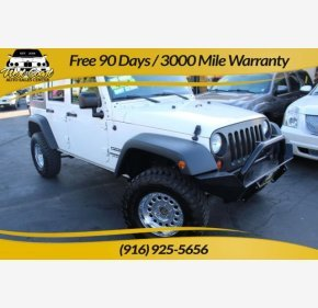 2010 Jeep Wrangler 4WD Unlimited Sport for sale 101214478
