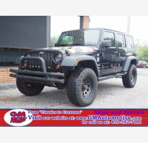 2010 Jeep Wrangler 4WD Unlimited Sport for sale 101217647