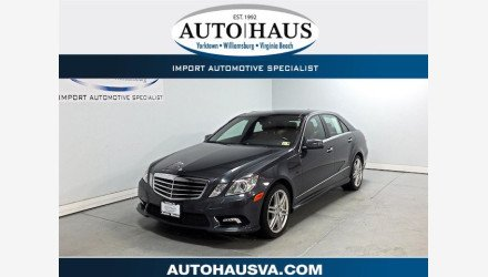 2010 Mercedes-Benz E550 Sedan for sale 101052565