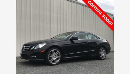 2010 Mercedes-Benz E550 Coupe for sale 101193252