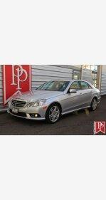 2010 Mercedes-Benz E550 Sedan for sale 101209418