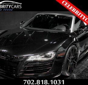 2011 Audi R8 5.2 Spyder for sale 101028278